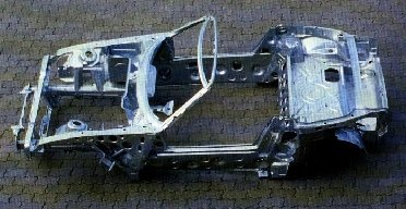 this is the bmw z1 chassis it 39 s monocoque design was a first for bmw. Black Bedroom Furniture Sets. Home Design Ideas
